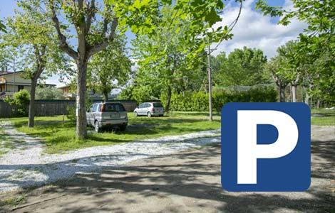 Parcheggio, Camping Linus La Partaccia